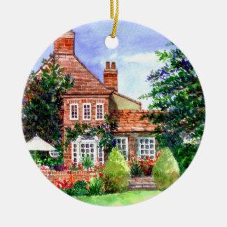 Das Herrenhaus, Heslington, York Keramik Ornament