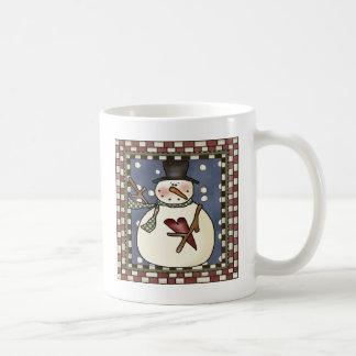 Das Herz des Schneemanns Kaffeetasse