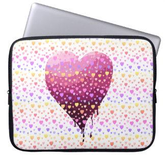 Das Herz des Valentinsgrußes Laptopschutzhülle
