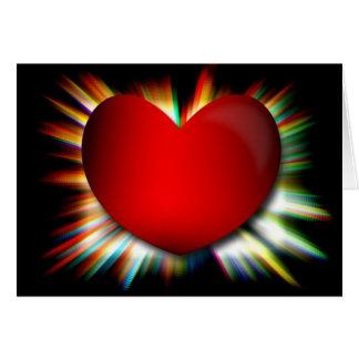 Das Herz sieht Karte