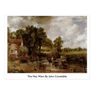 Das Heu Wain durch John Constable Postkarte