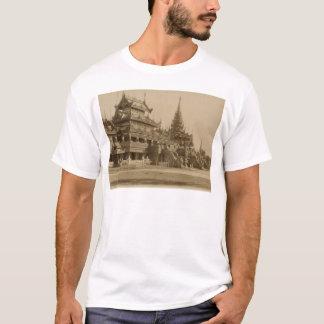 Das Hman Kyaung oder das Glaskloster, Birma T-Shirt