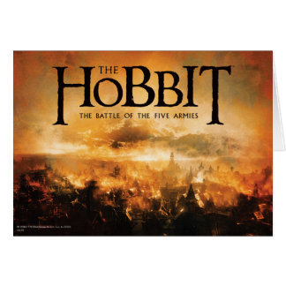 Das Hobbit: Der KAMPF VON FÜNF ARMIES™ Logo Karte