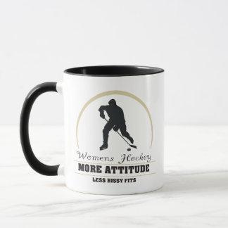 Das Hockey der lustigen Frauen mehr Haltung Tasse