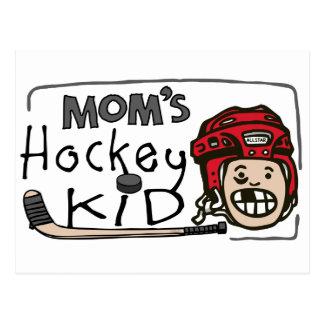 Das Hockey-Kind der Mammas Postkarte