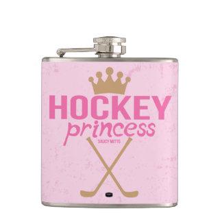 Das Hockey-Prinzessin der rosa Frauen Flachmann