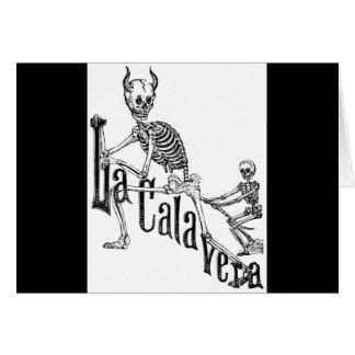 Das höllische Calavera. Der Tag der Toten Karte
