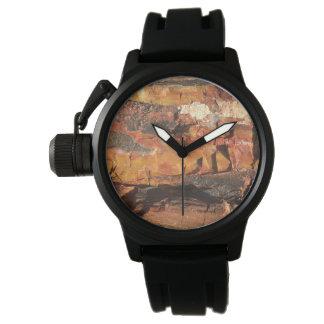 Das Holz-Uhr der Männer Uhr