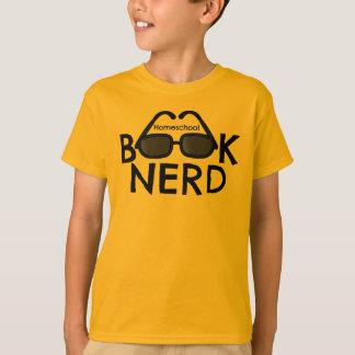 Das Homeschool der Kinder Unisexbuch-Nerd-T-Stück T-Shirt