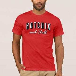 """""""das HOTCHIX und der kalte"""" T - Shirt der Männer"""