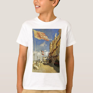 Das Hotel-DES Roches Noires bei Trouville durch T-Shirt