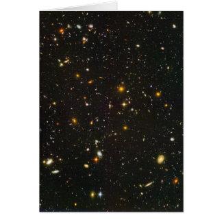 Das Hubble ultra tiefe Feld Karte