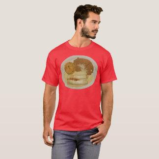 Das Huhn-Enchiladas der Männer mit Refried Bohnen T-Shirt