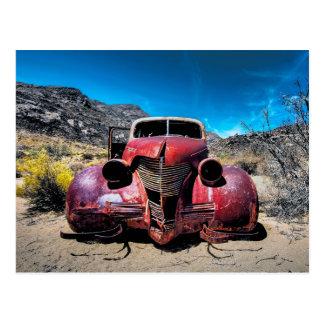 Das Hummer-Auto ein Vintages Chevy 1939 L Postkarte