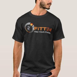 Das iFiTT24 der Männer schwarzer T - Shirt