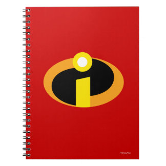 Das Incredibles Logo Notizblock