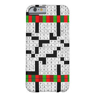Das iPhone 6/6s KreuzworträtselPuzzlers kaum dort Barely There iPhone 6 Hülle