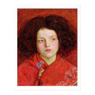 Das irische Mädchen, 1860 (Öl auf der Leinwand Postkarte
