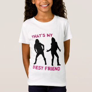 Das ist meine bester Freund-Mädchen T T-Shirt