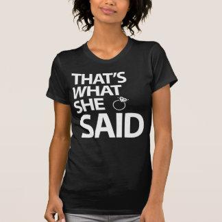Das ist, was sie Junggeselinnen-Abschieds-Shirts T-Shirt