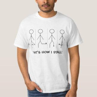 Das ist, wie ich festklemme! t-shirt