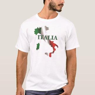 Das Italien-Karten-Shirt der Männer T-Shirt