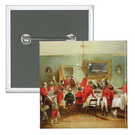 Das Jagd-Frühstück, der Hall des Junggesellen, 183 Anstecknadel