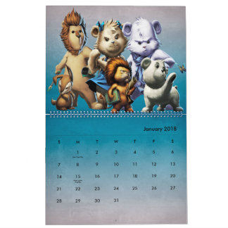 Das Jahr der Aufregung Abreißkalender