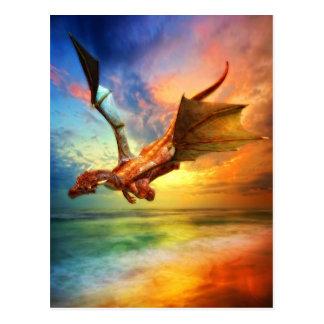 Das Jahr des Drachen Postkarte