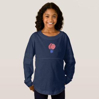Das Jersey-Geist-Shirt der Luft-Ballon-Mädchen Trikot Shirt