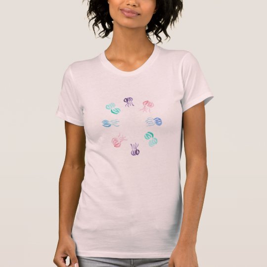 Das Jersey-T - Shirt der Quallen-Frauen