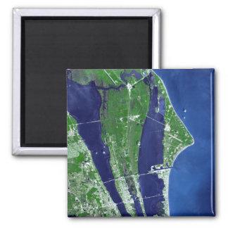 Das John- F. KennedyRaumfahrtzentrum Quadratischer Magnet