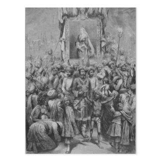 Das Jubiläum im Osten eine Allegorie, 1887 Postkarte