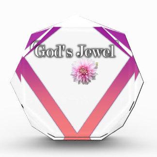 Das Juwel des Gottes Acryl Auszeichnung