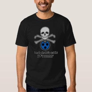 Das Kabel eines Piraten T-shirt