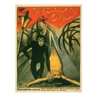 Das Kabinett des Filmplakats Dr. Caligari Postkarte