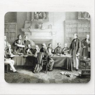 Das Kabinett von Lord Derby von 1867, 1868 Mousepad