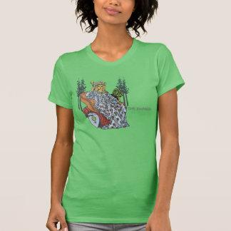 Das Kaiserin-amerikanische Kleidert-stück - Grün T-Shirt