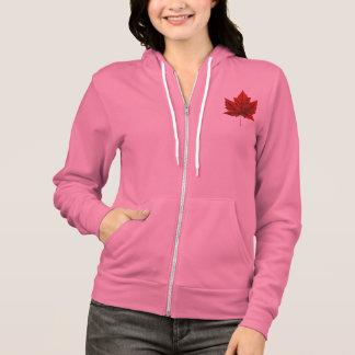 Das Kanada-Flaggen-Jacken-Andenken-Sport-Jacke der Hoodie