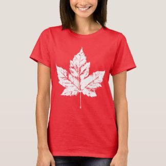 Das Kanada-T - Shirt-Kanada-Ahorn-Blatt-Shirt der T-Shirt