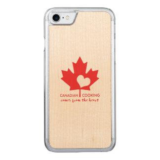 Das kanadische Kochen kommt vom Herzen Carved iPhone 8/7 Hülle