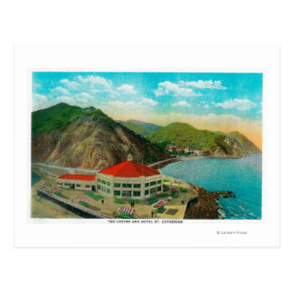 Das Kasino-und Hotel-St. Catherine Postkarte