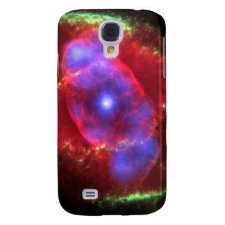 Das Katzenaugen-Nebelfleckglühen Galaxy S4 Hülle