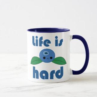 Das Kawaii Blaubeerleben ist- harte Tasse