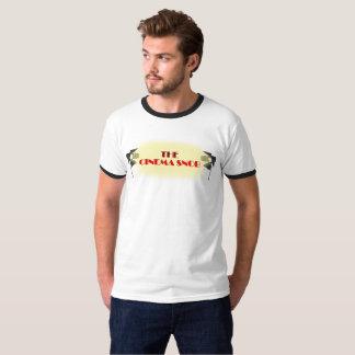 Das Kino-Snob-Logo - der Wecker der Männer T-Shirt