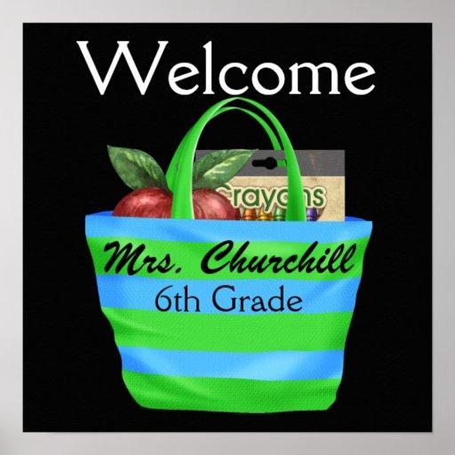Das Klassenzimmer-Regeln des Schullehrers - SRF Plakat