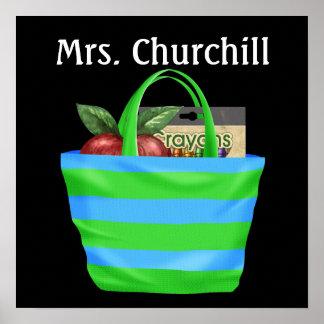 Das Klassenzimmer-Regeln des Schullehrers - SRF Plakatdruck