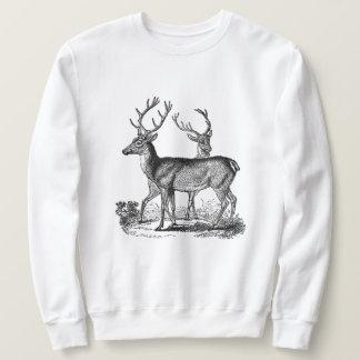 Das klassische Sweatshirt der Waldrotwild-Männer