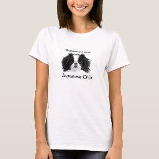 Das klassische T-Stück Japanerchin-Frauen T-Shirt