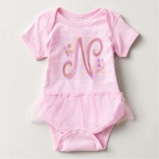 Das Kleid rosa n-Babys